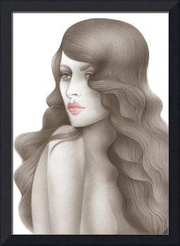 Scent of a woman - fashion airbrush art