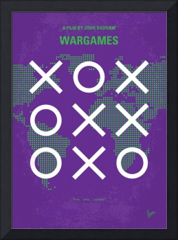 No418 My WarGames minimal movie poster