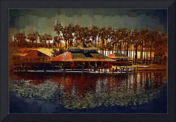 Boat Dock On North Lake