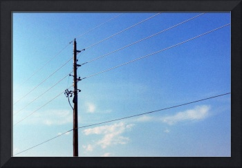 Power-lined Sky