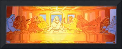 Abstract Last Supper