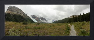 Approaches to Mount Robson