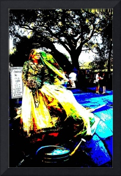 Bride of New Orleans, Jackson Square