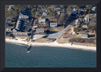 Pleasant St. Beach Aerial Photo