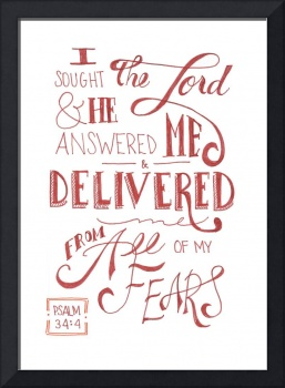He Delivered Me - Ps. 34:4