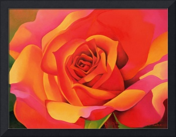 A Rose - Transformation into the Sun by Myung-Bo S