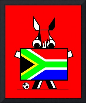 Zebras too are Proud at 2010 FIFA World Cup South