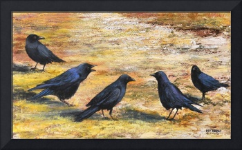 The Conference  (5 black crows) Larry 'Kip