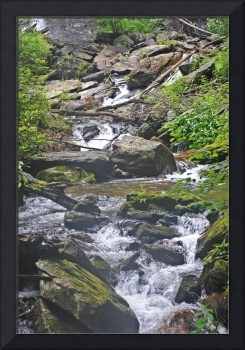 River rocks - Anna Ruby Falls