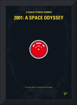 No003 My 2001 A space odyssey 2000 minimal movie p