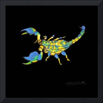 Colorful Scorpion