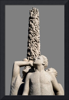 Group of Vigeland Sculptures with the Monolith