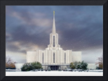 Jordan River Temple / Winter