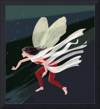 night-fairy in flight