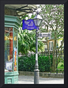 New Orleans' Royal Street Sign