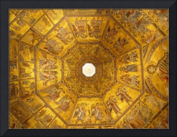 Ceiling in Baptistery