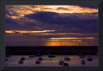 16 Sunset in Dunlaoghaire 1