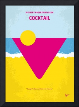 No603 My Cocktail minimal movie poster