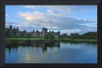 ashford castle ireland Painting