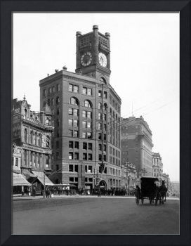 Chronicle Building, Market Street at Kearny, c. 19