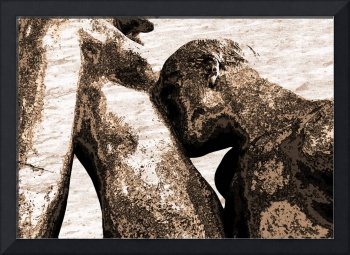 The Kiss #7 - Homage to Auguste Rodin