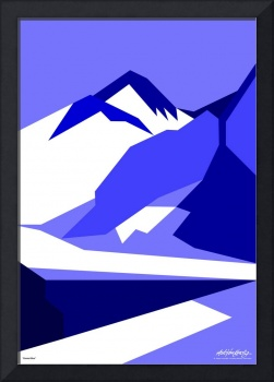 Everest Blue - Art Gallery Selection