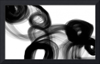 ORL-7177 Abstract Poetry in Black and White 120