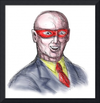 Bald Superhero Mask