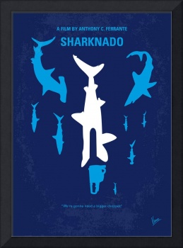 No216 My Sharknado minimal movie poster