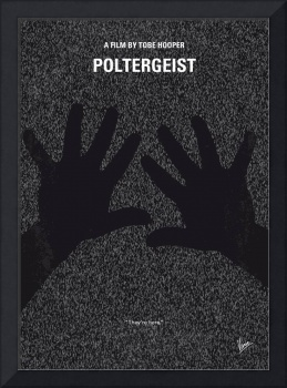 No266 My POLTERGEIST minimal movie poster
