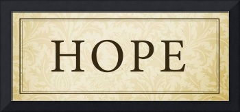 Hope Sign/Plaque