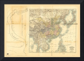 Map of Foreign Settlements at Shanghai (1897)