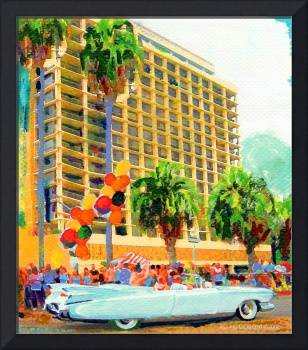 Big Bertha in The Parade by RD Riccoboni