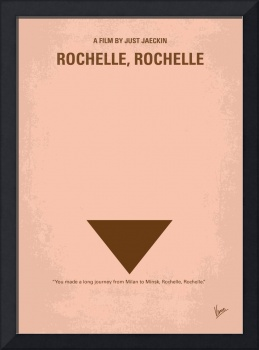 No354 My Rochelle Rochelle minimal movie poster