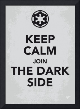 My Keep Calm Star Wars - Galactic Empire-poster