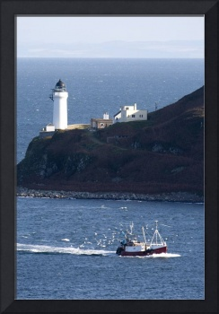 Lighthouse On The Coast, Campbeltown Loch, Island