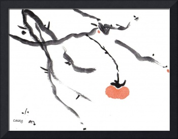 Branches with a Persimmon