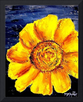 oil sunflower painting 5
