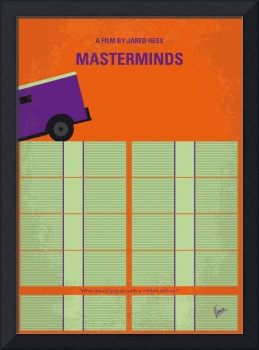 No851 My Masterminds minimal movie poster