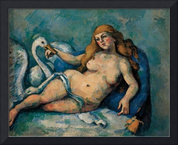 Leda and the Swan by Paul Cezanne