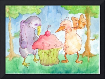 Two Characters In Search Of A Cupcake