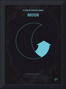 No053 My Moon 2009 minimal movie poster