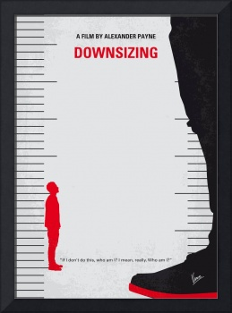 No934 My Downsizing minimal movie poster