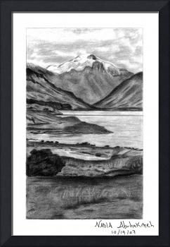 Landscape Nature Drawing
