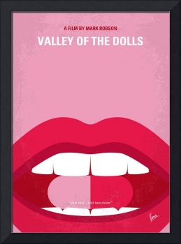 No945 My Valley of the Dolls minimal movie poster