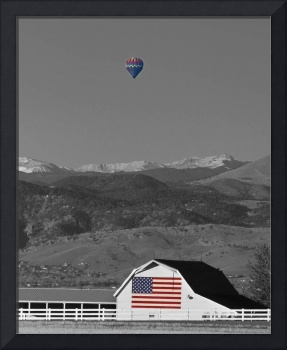 America The Beautiful The Banner Of The Free BWSC