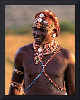 Young Samburu Warrior