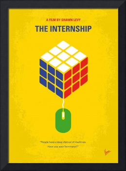 No215 My The Internship minimal movie poster
