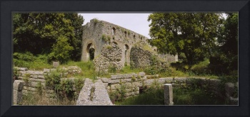 Old ruins of a building