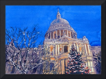 Dusk of St Paul Cathedra